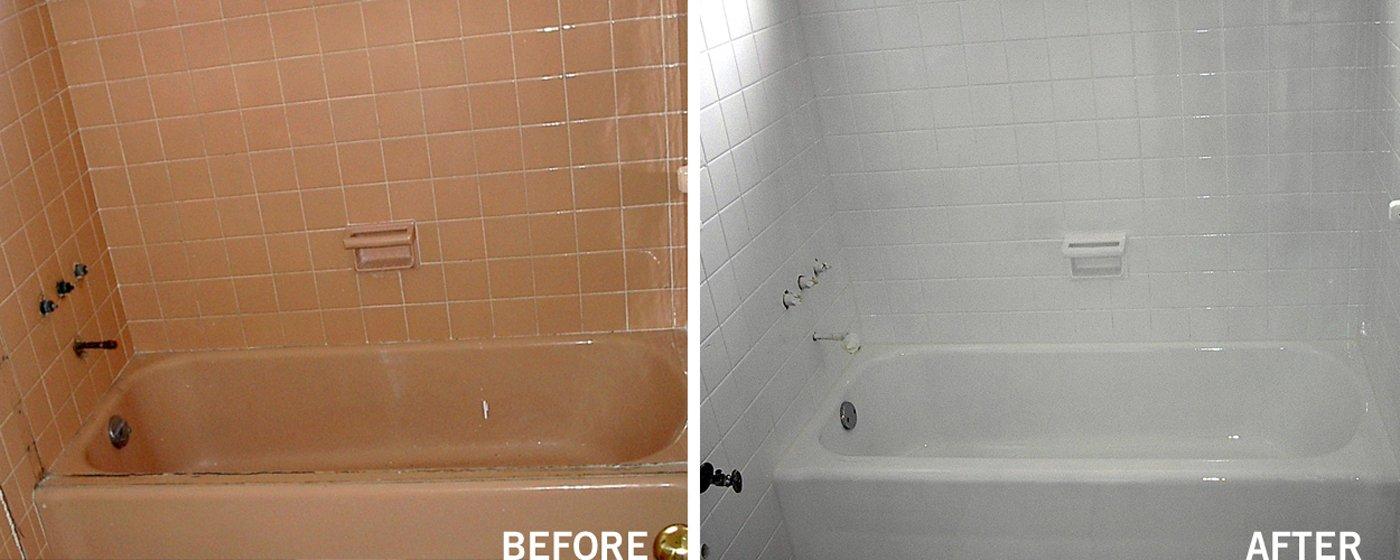 Bathroom Refinishing & Reglazing - (800) 995-5595 - Artistic ...