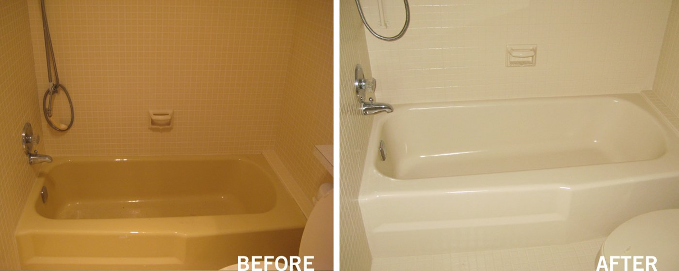 bathtub refinishing and shower surround