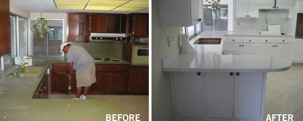 kitchen countertop resurfacing deerfield beach