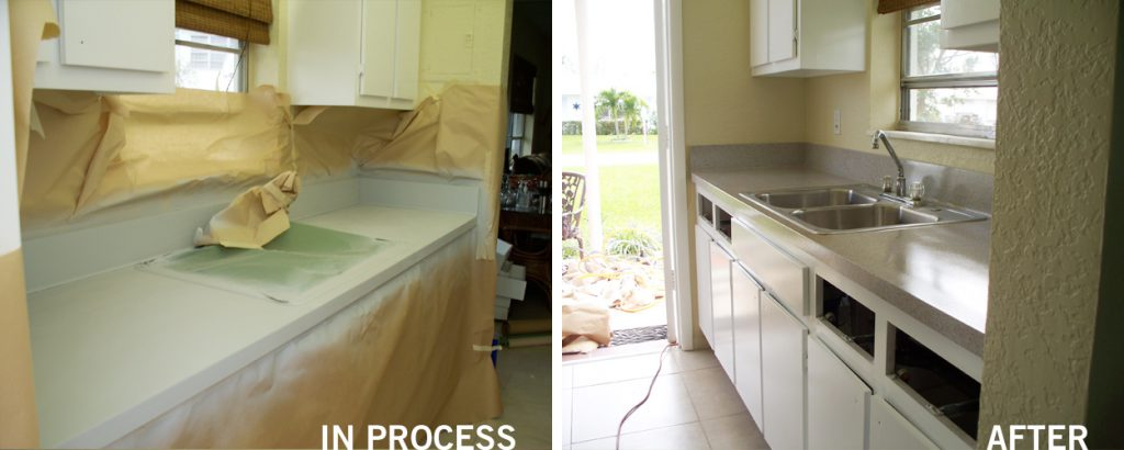 kitchen countertop reglazing boca raton