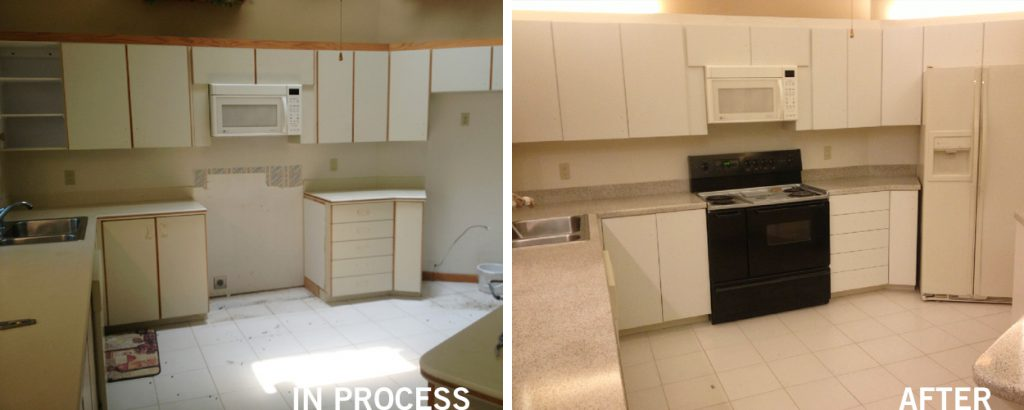 kitchen cabinet reglazing pompano beach