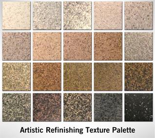 Color Palette Artistic Refinishing