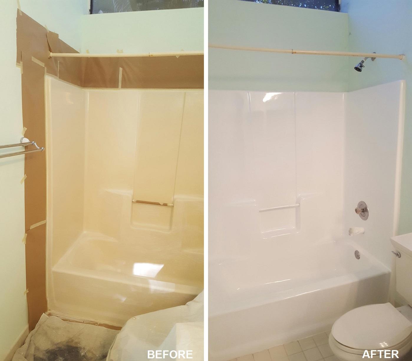 Kitchen Cabinets Pompano Beach: Bathtub Reglazing And Tub Refinishing Pompano Beach