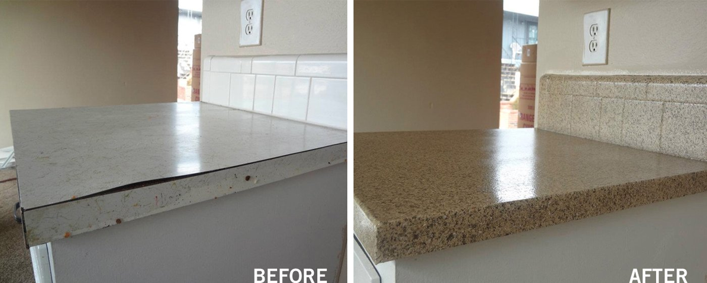 Reglaze Kitchen Countertop Wilsonart Laminate Countertops Diy Concrete Countertops Glaze