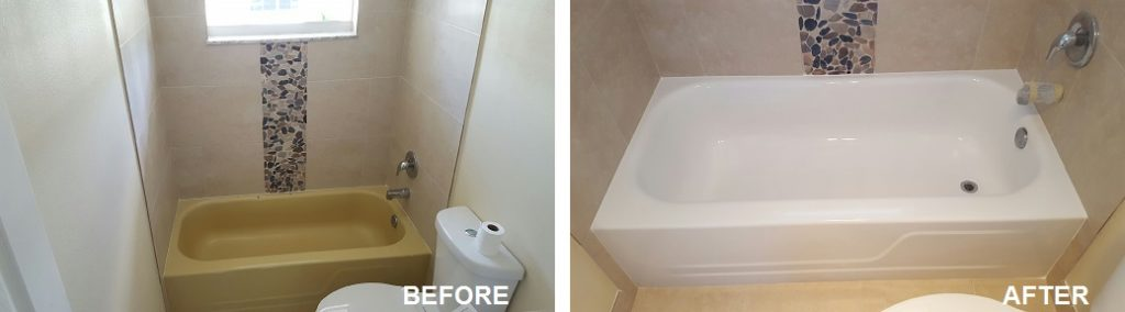 Bathtub Refinishing Reglazing Fort Lauderdale - Bathroom fixtures fort lauderdale