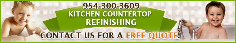 countertop refinishing broward quote